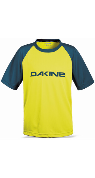 Dakine Dropout SS Jersey Kids sulphur/moroccan